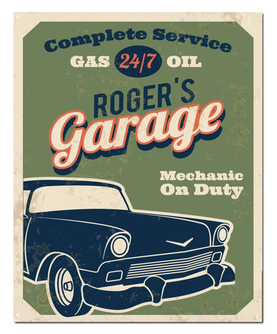 Dad's Garage Print - Hypolita Co.