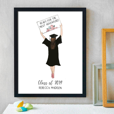 Next Adventure Graduation Print - Hypolita Co.