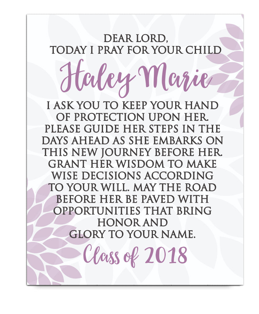 Graduation Prayer Print - Hypolita Co.