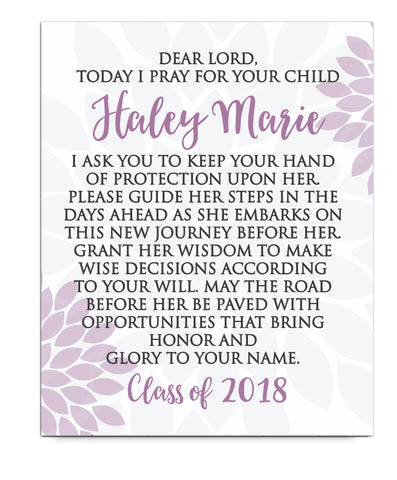 Graduation Prayer Print