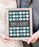 Wedding Heart Guestbook Print - Hypolita Co.