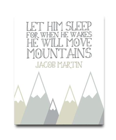 Let Him Sleep Print - Hypolita Co.