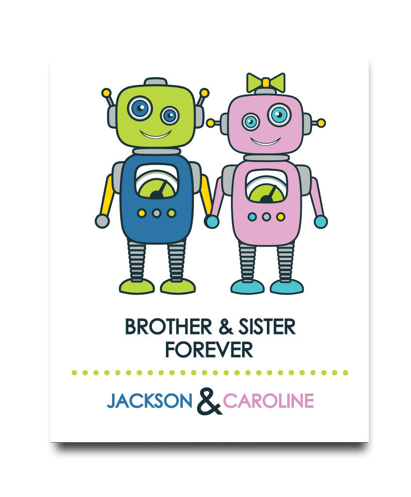 Brothers & Sister Print - Hypolita Co.