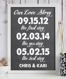 Favorite Love Story Print