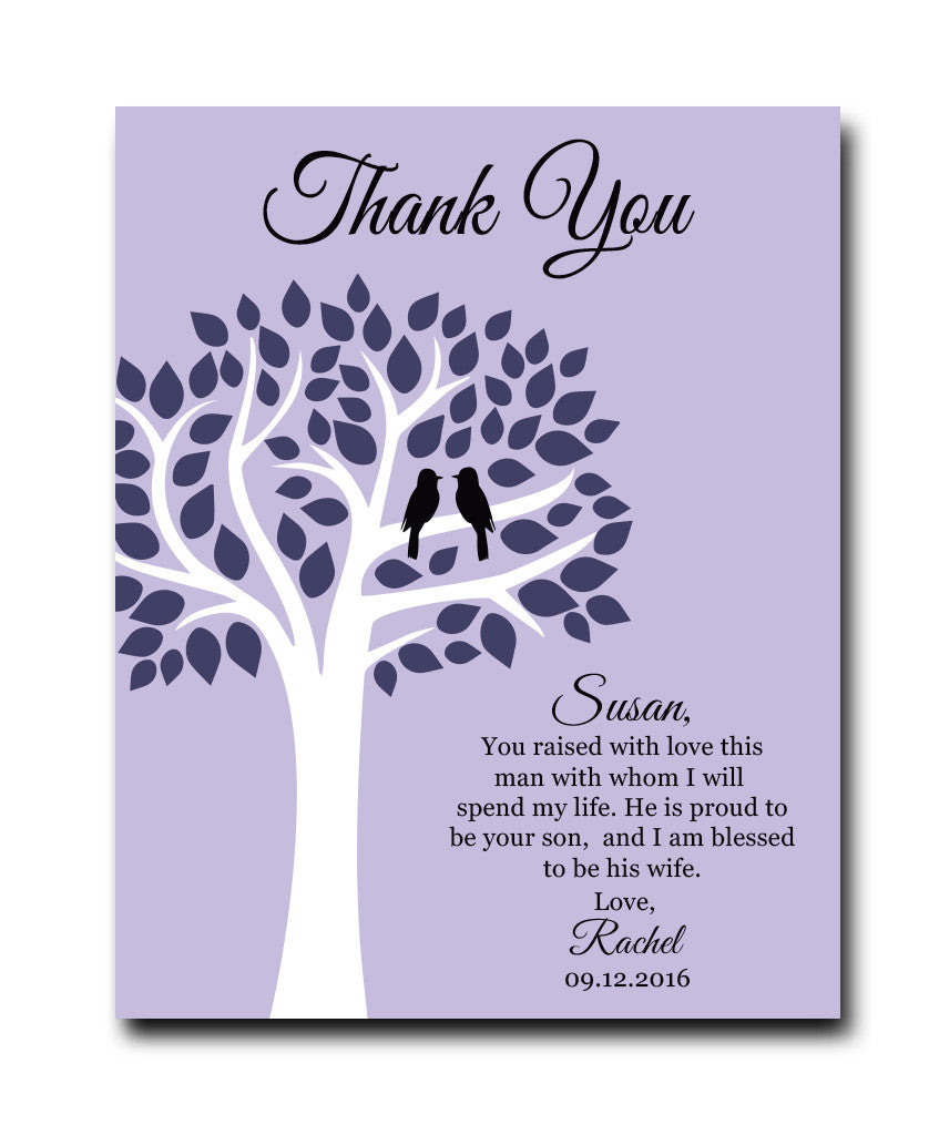 Mother in Law Thank You Print