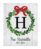 Christmas Wreath Print - Hypolita Co.