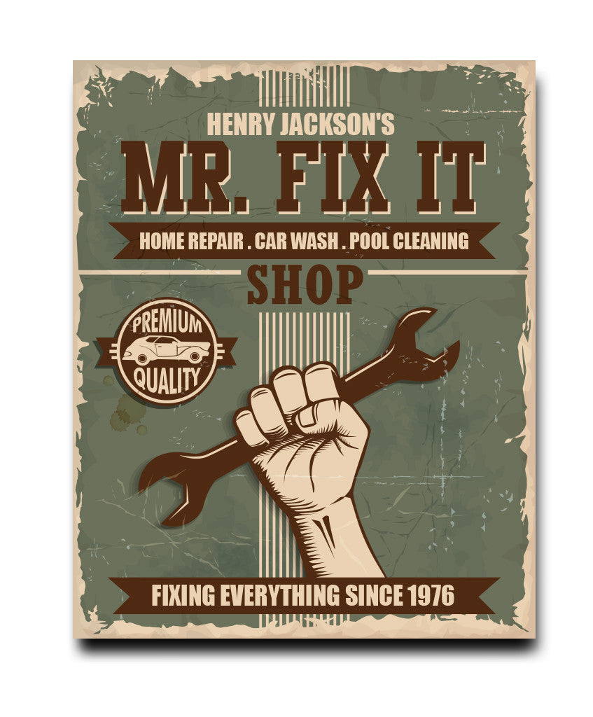 Mr. Fix It Print - Hypolita Co.