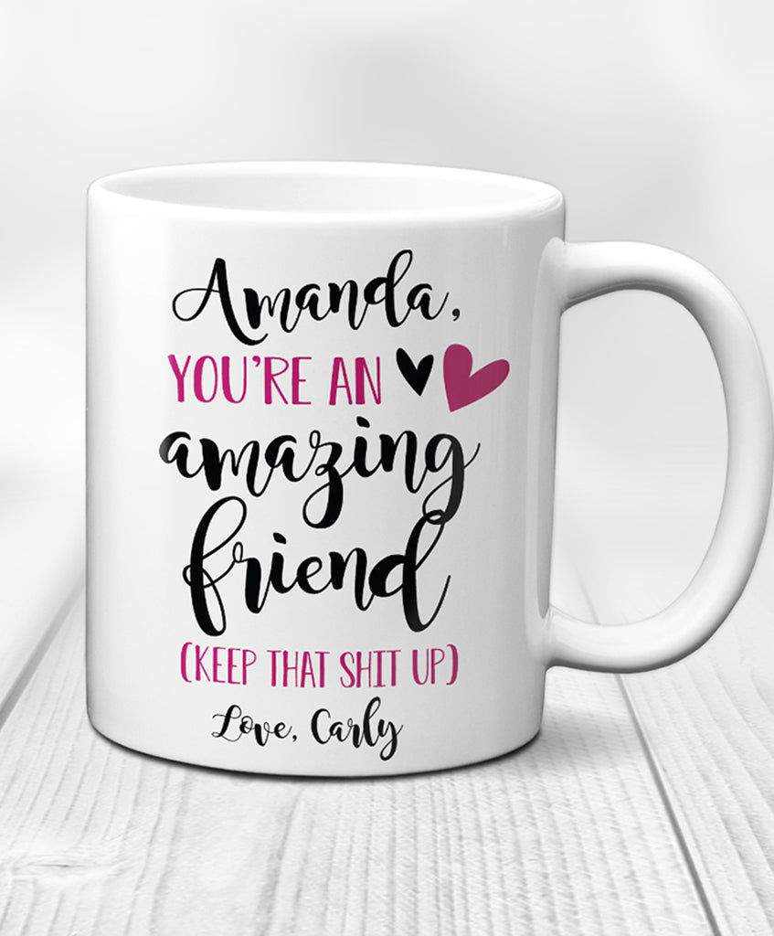 Personalized Friend Mug