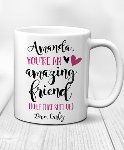 Personalized Friend Mug - Hypolita Co.