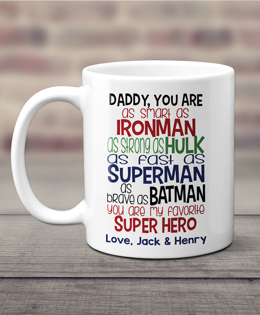 Personalized Father Mug - Hypolita Co.