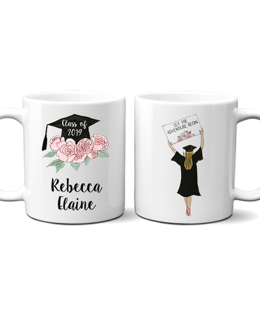 Personalized Graduation Mug - Hypolita Co.