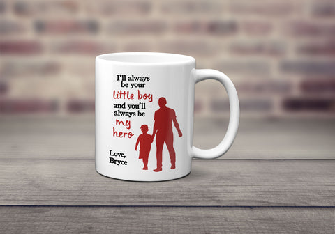 Little Boy Hero Mug