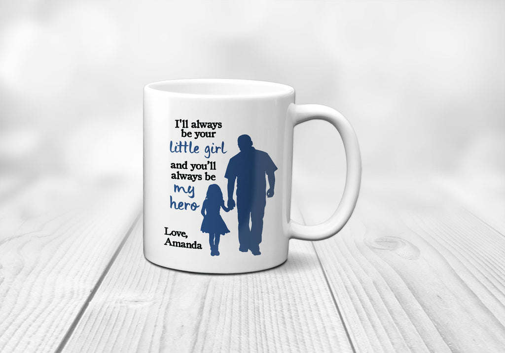 Little Girl Hero Mug
