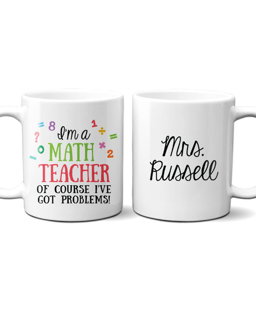 Personalized Teacher Mug - Hypolita Co.