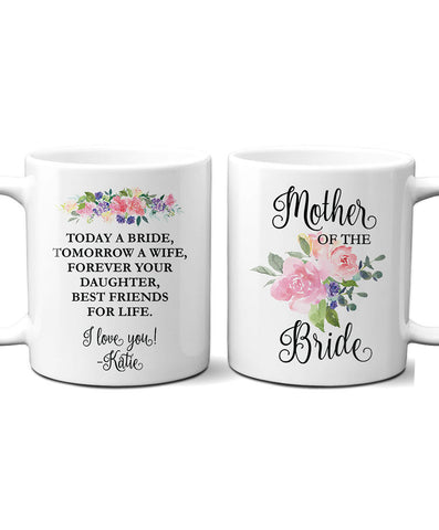 Personalized Mother of Bride Mug - Hypolita Co.