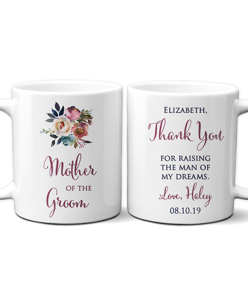 Personalized Mother of Groom Mug - Hypolita Co.