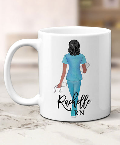Personalized Nurse Mug - Hypolita Co.