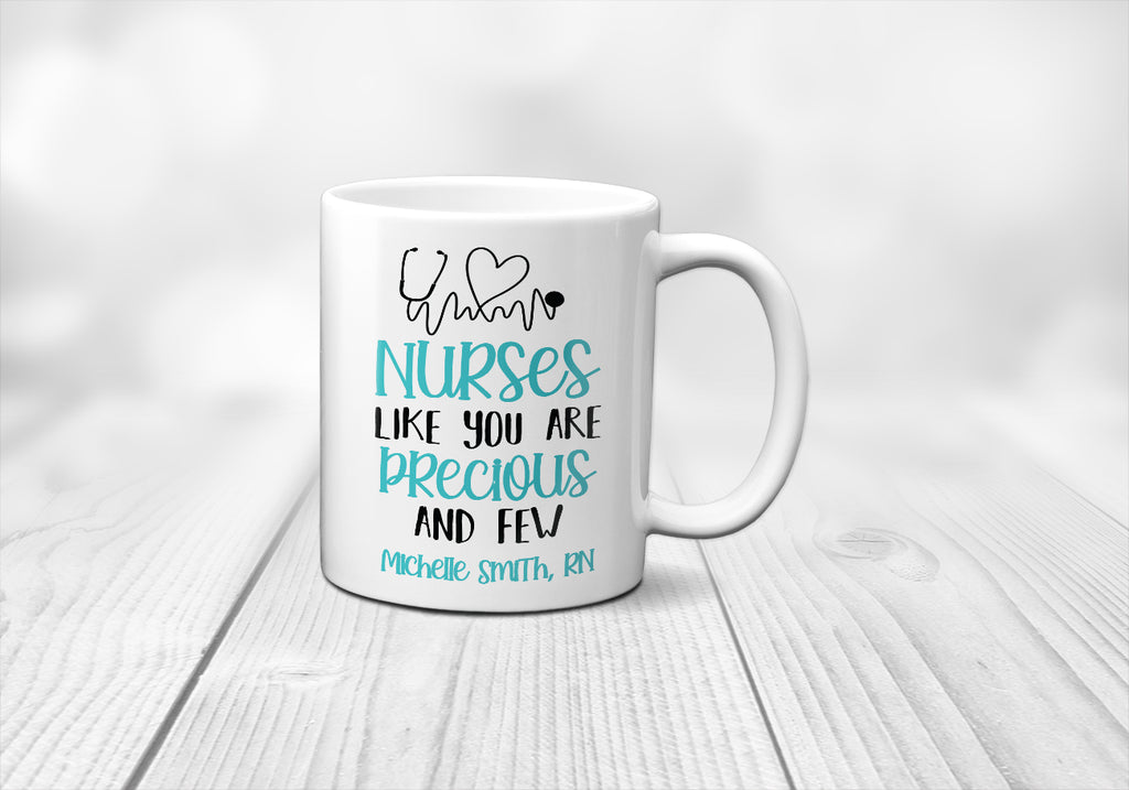 Personalized Nurse Appreciation Mug