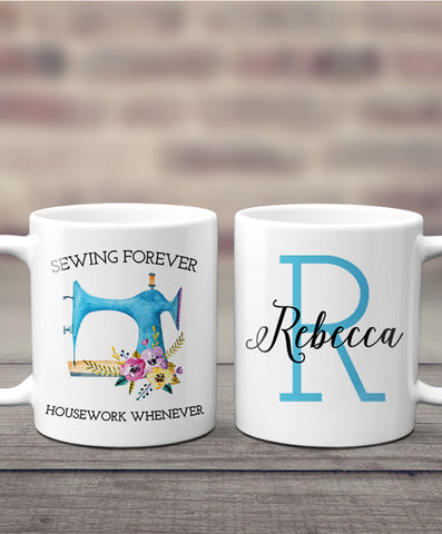 Personalized Sewing Mug - Hypolita Co.