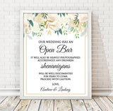 Floral Open Bar Print - Hypolita Co.