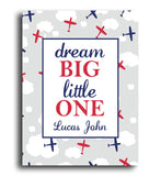 Dream Big Plane Print - Hypolita Co.