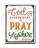 God Everywhere Print - Hypolita Co.