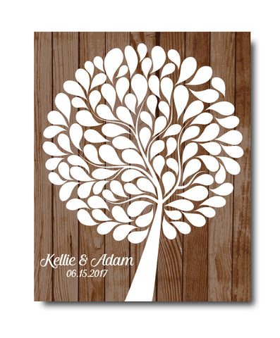 Wedding Guestbook Tree Print - Hypolita Co.