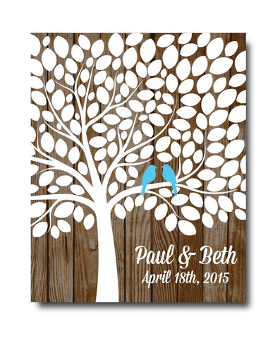 Wedding Tree Guestbook Print - Hypolita Co.