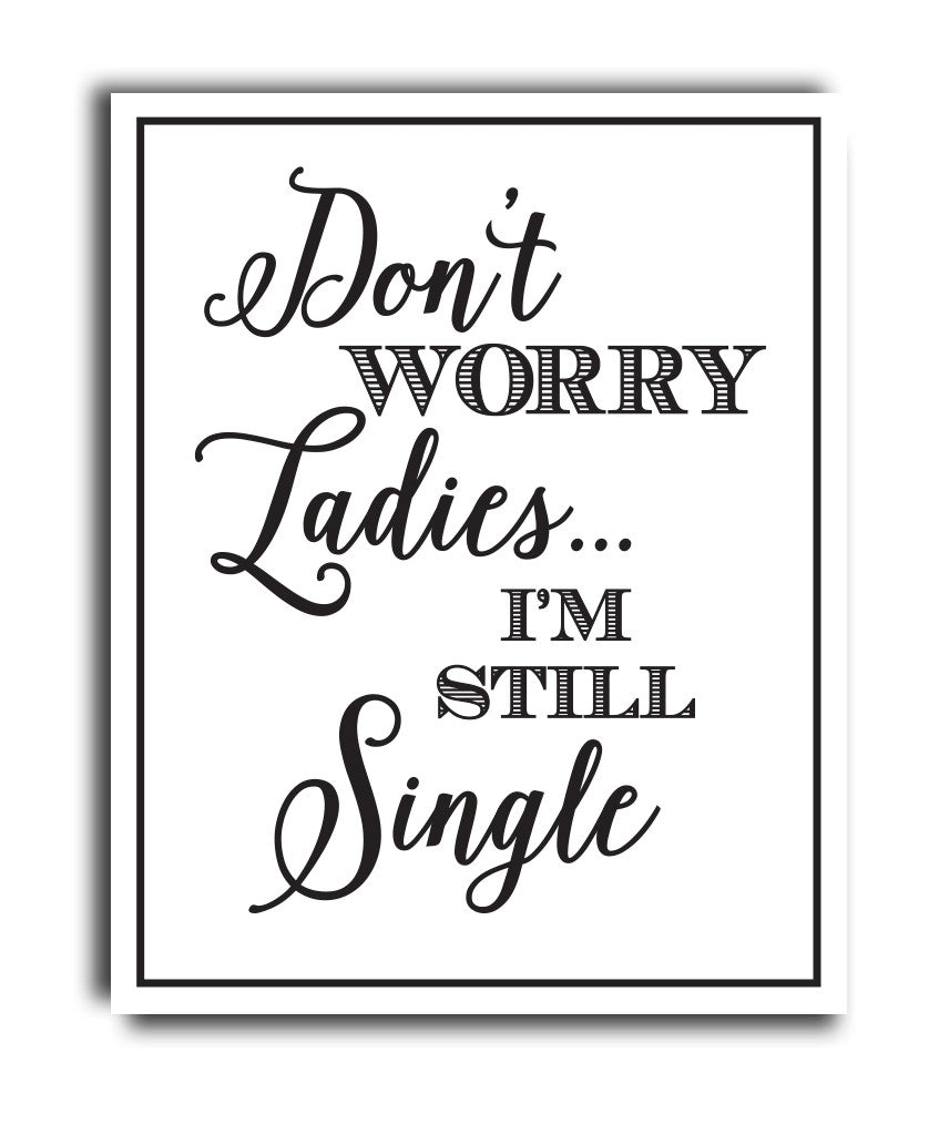 Ring Bearer I'm Still Single Print - Hypolita Co.
