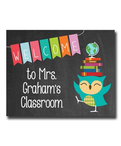 Classroom Welcome Print
