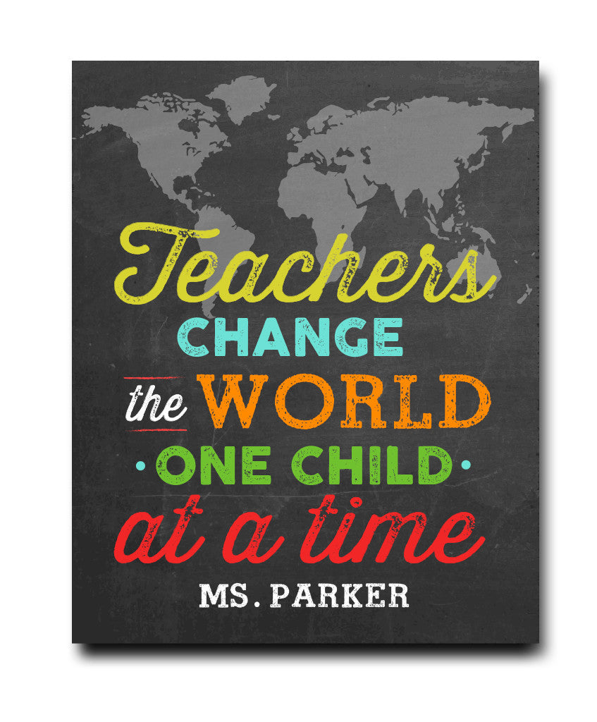 Teacher Change the World - Hypolita Co.
