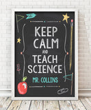 Keep Calm and Teach Print - Hypolita Co.