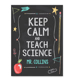 Keep Calm and Teach Print