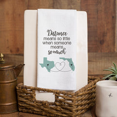 Distance Much Personalized Towel