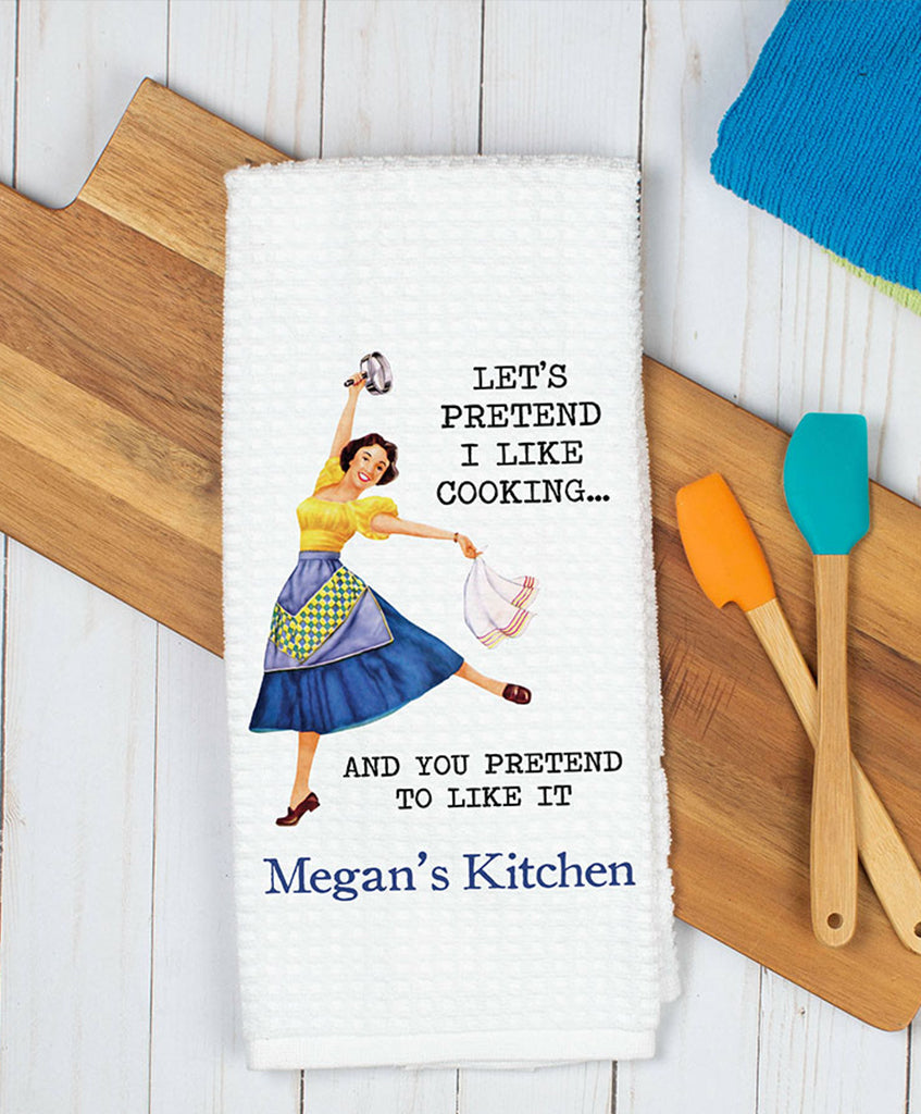 Cooking Witty Women Dish Towel - Hypolita Co.
