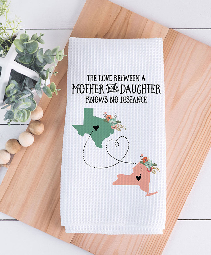 Long Distance Mother Dish Towel - Hypolita Co.