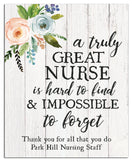 Personalized Nurse Print - Hypolita Co.
