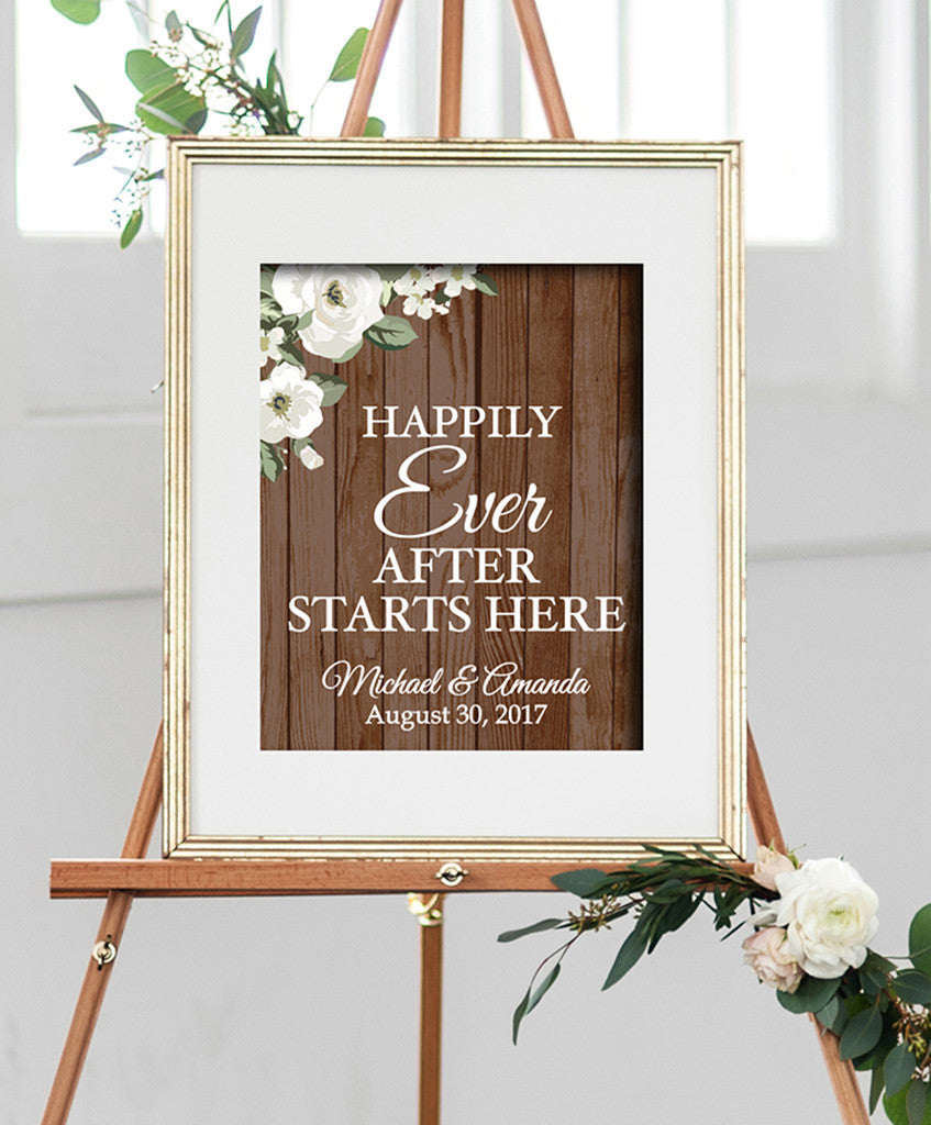 Wedding Welcome Print