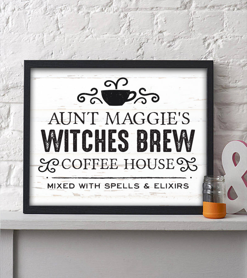 Witches Brew Halloween Print - Hypolita Co.