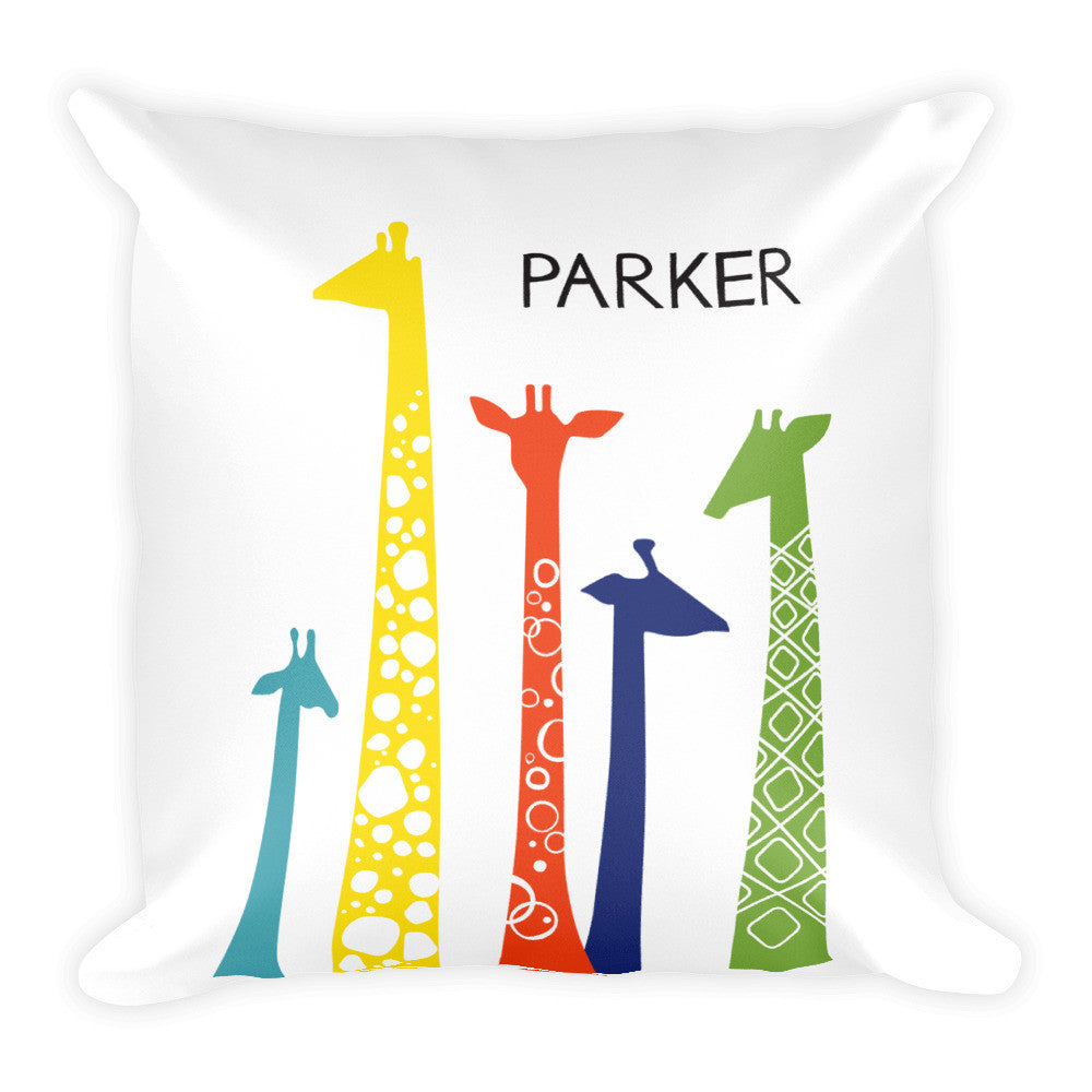 Personalized Giraffe Pillow - Hypolita Co.