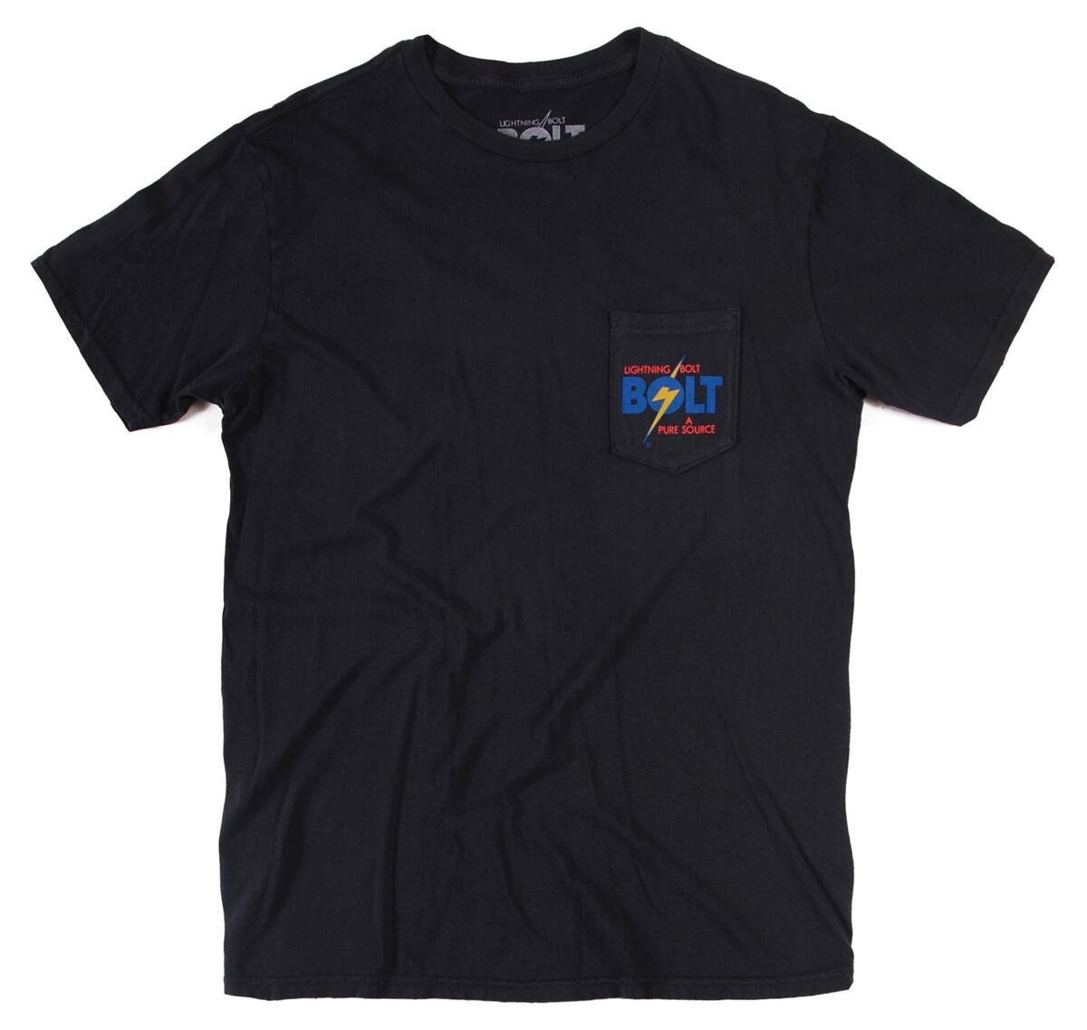 Lightning Bolt The Original Pocket T-shirt - Vintage Black