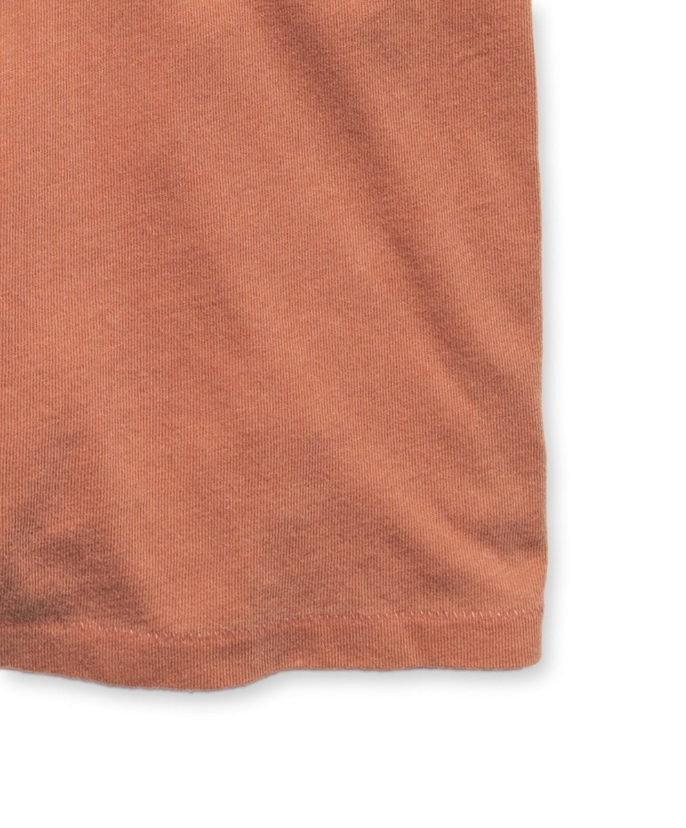 Outerknown Groovy Pocket Tee - Terra Cotta