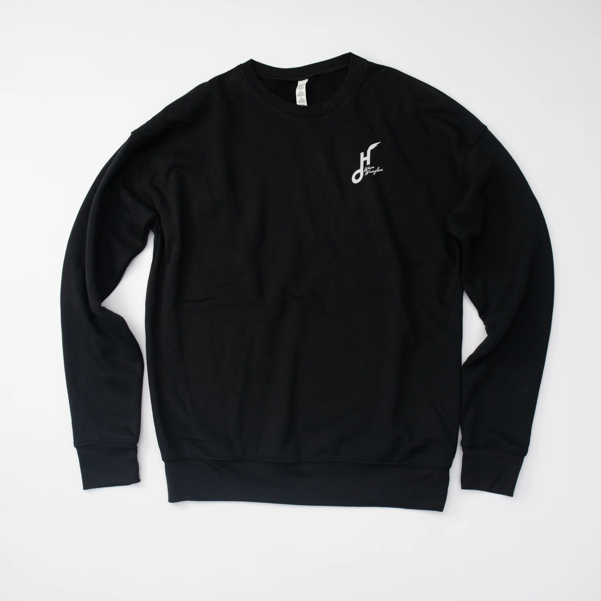 Hoy Wave Wranglers Sponge Fleece Sweater - Black