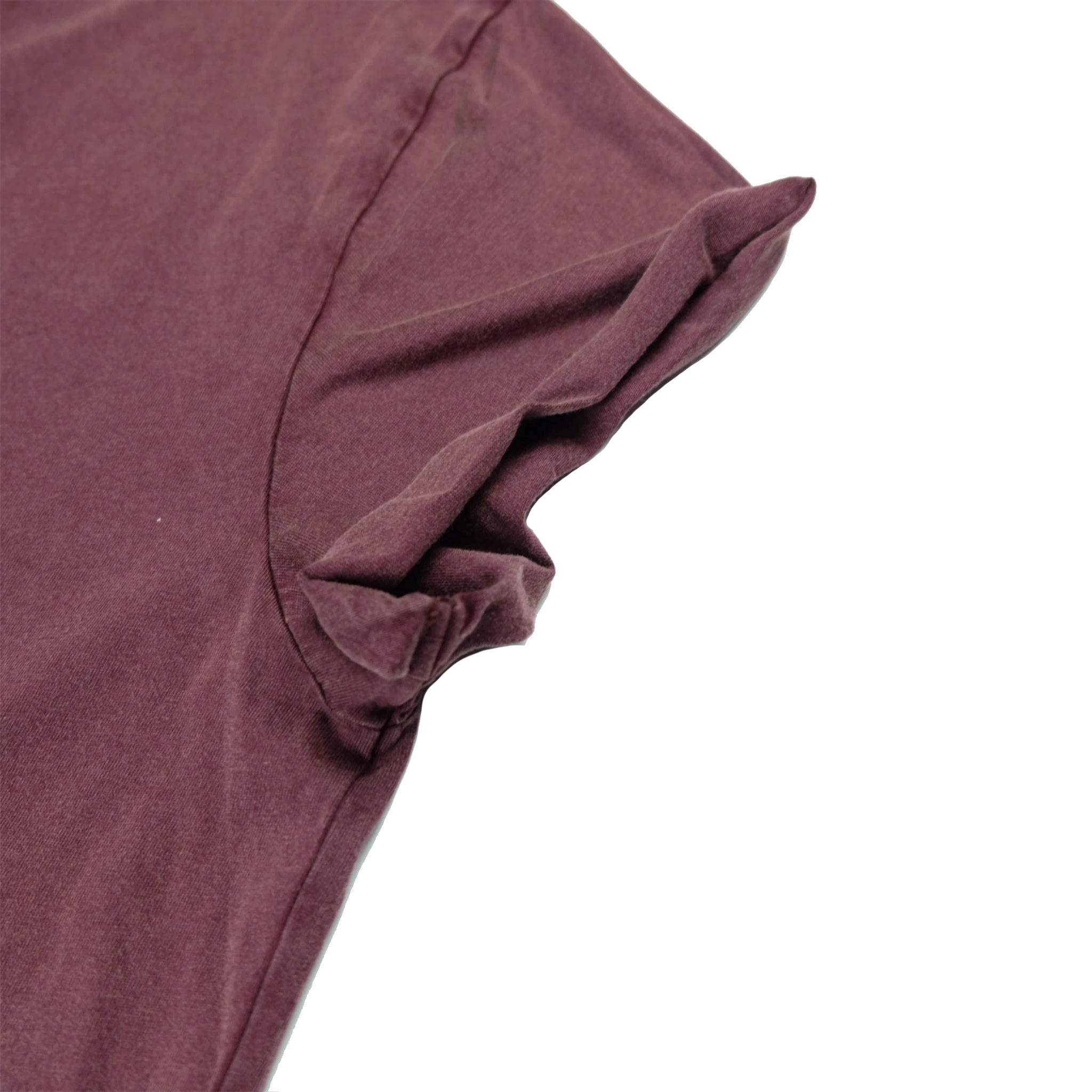 Women's Hoy Water Craft Organic T-shirt - Dusty Burgundy