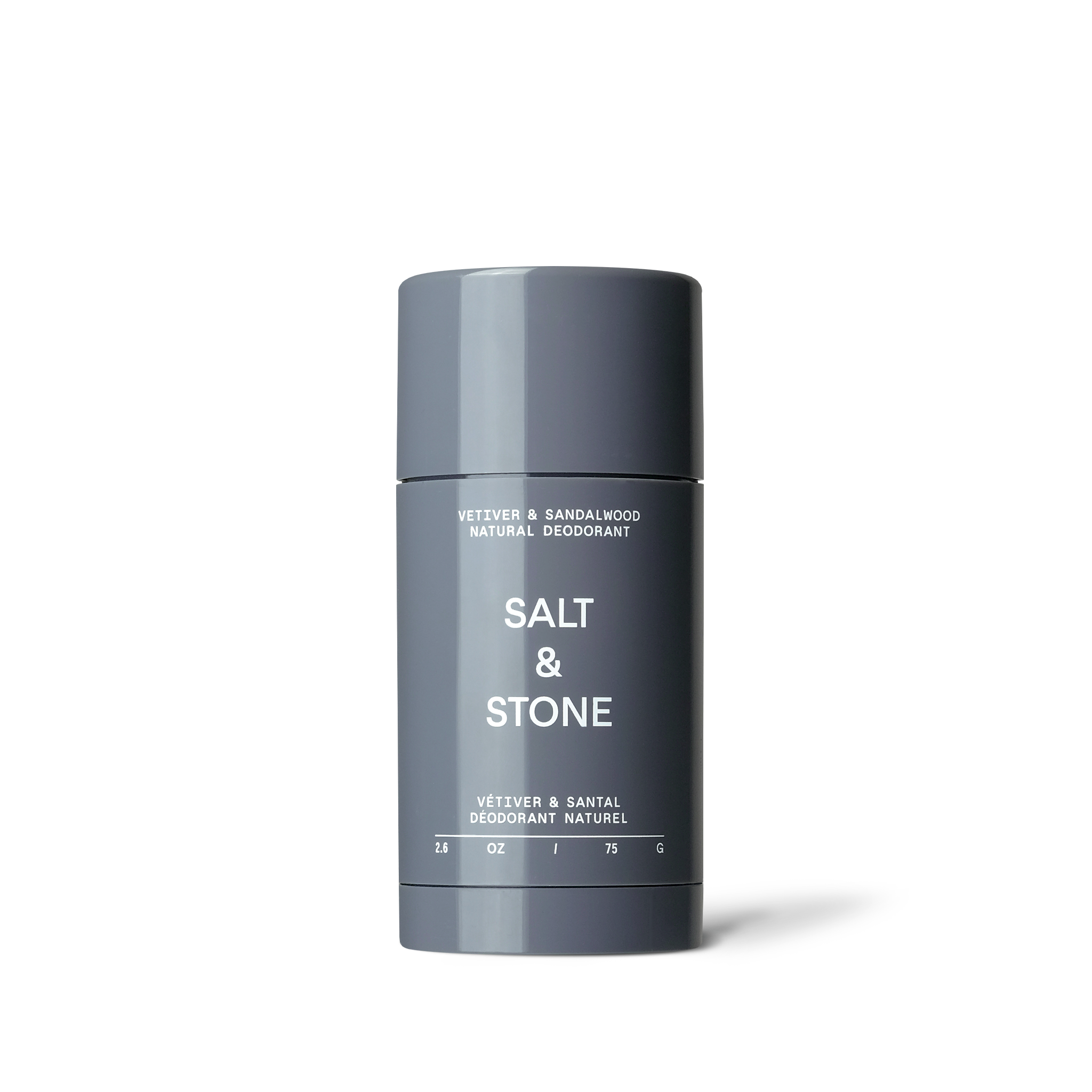 Salt & Stone Vetiver & Sandalwood Deodorant - Formula Nº 2 (Sensitive Skin)