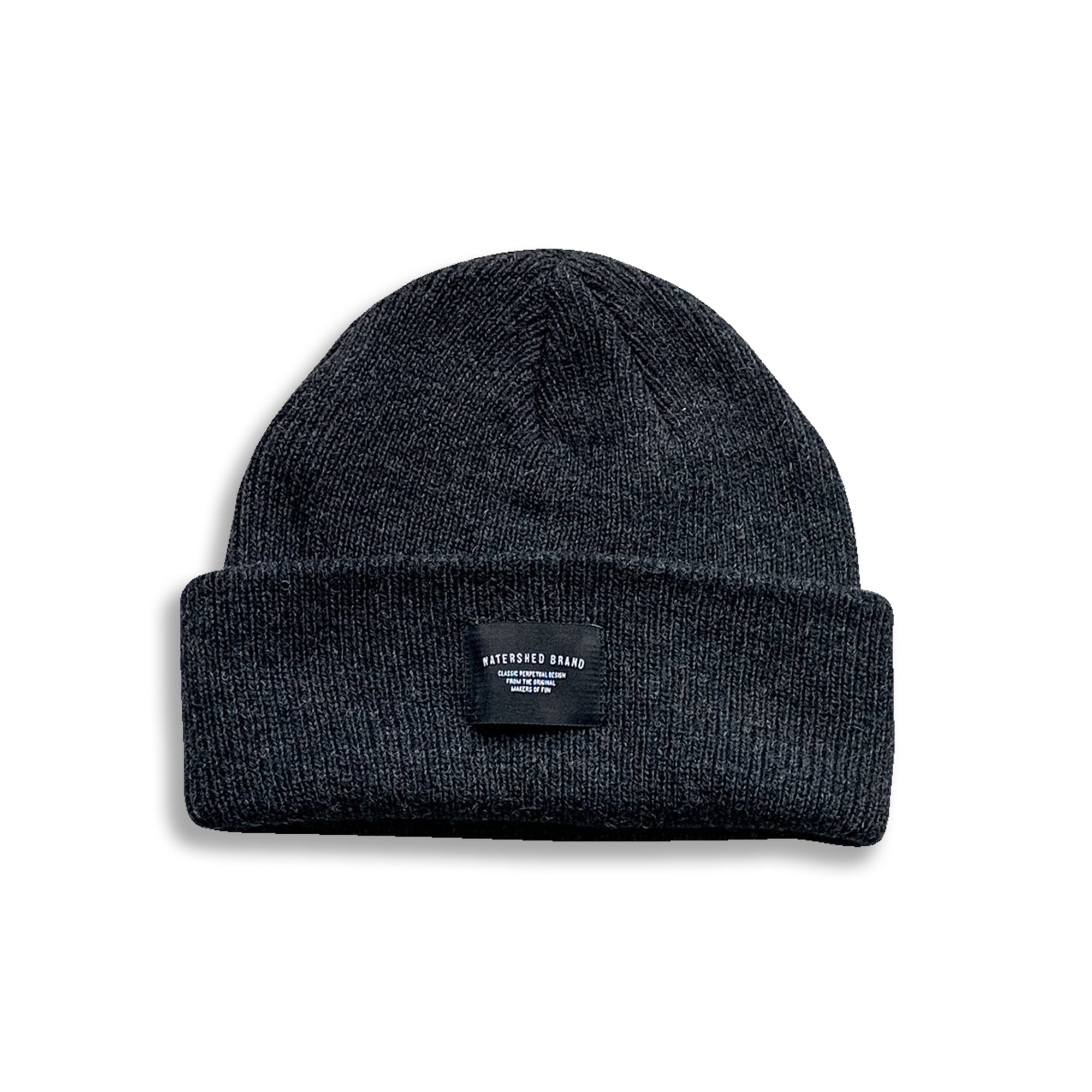 Watershed Industrial Beanie - Charcoal