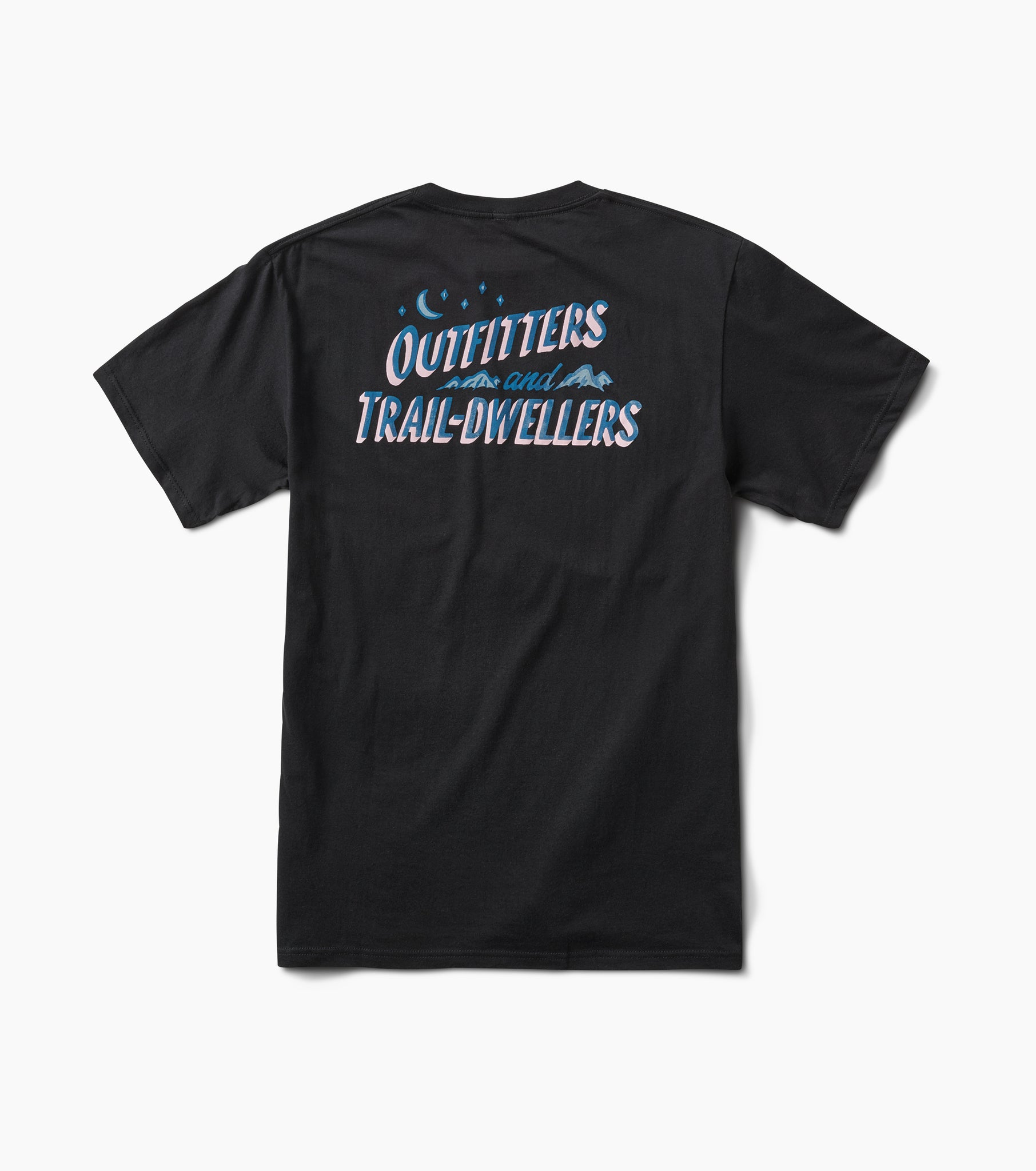 Roark Outfitters and Trail Dwellers T-shirt - Black