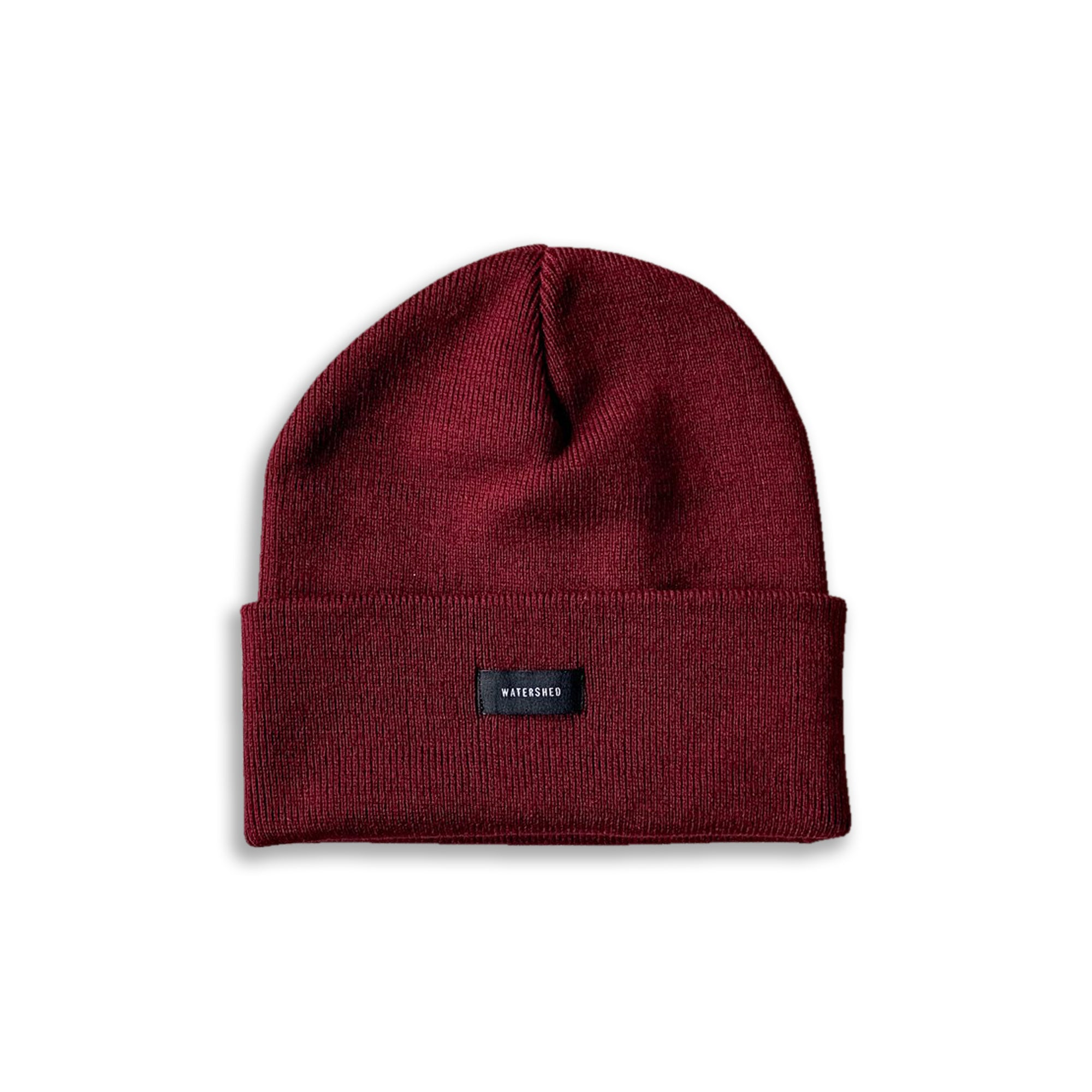 Watershed Standard Issue Beanie - Burgundy