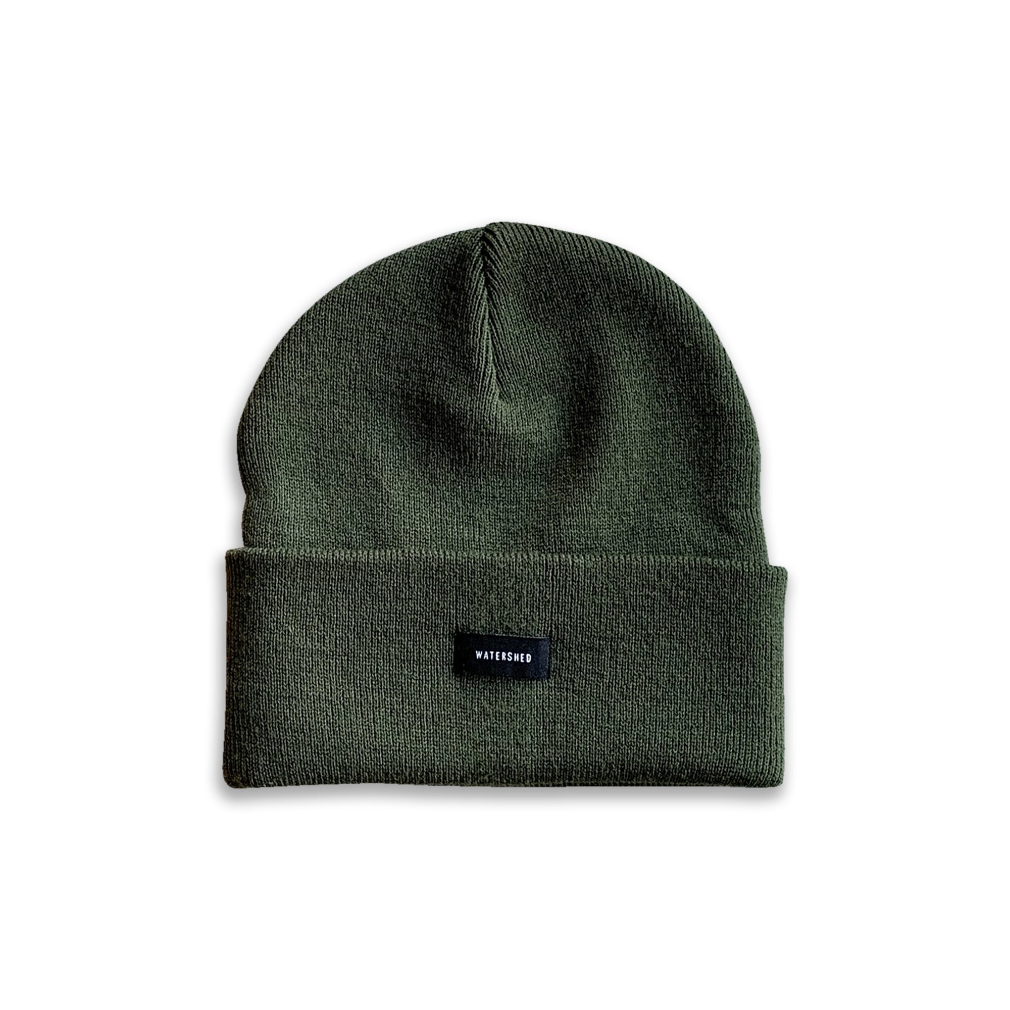 Watershed Standard Issue Beanie - Olive