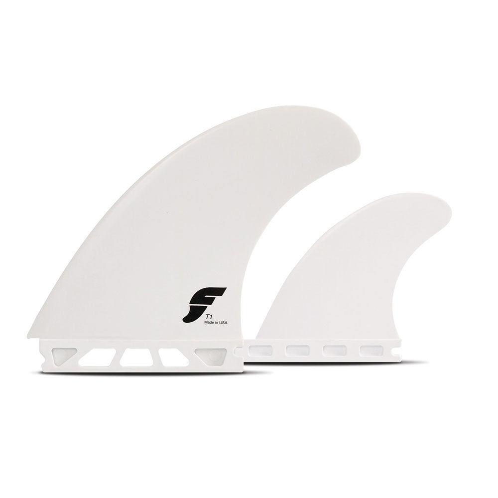Futures Thermotech T1 Twin Fins + Trailer